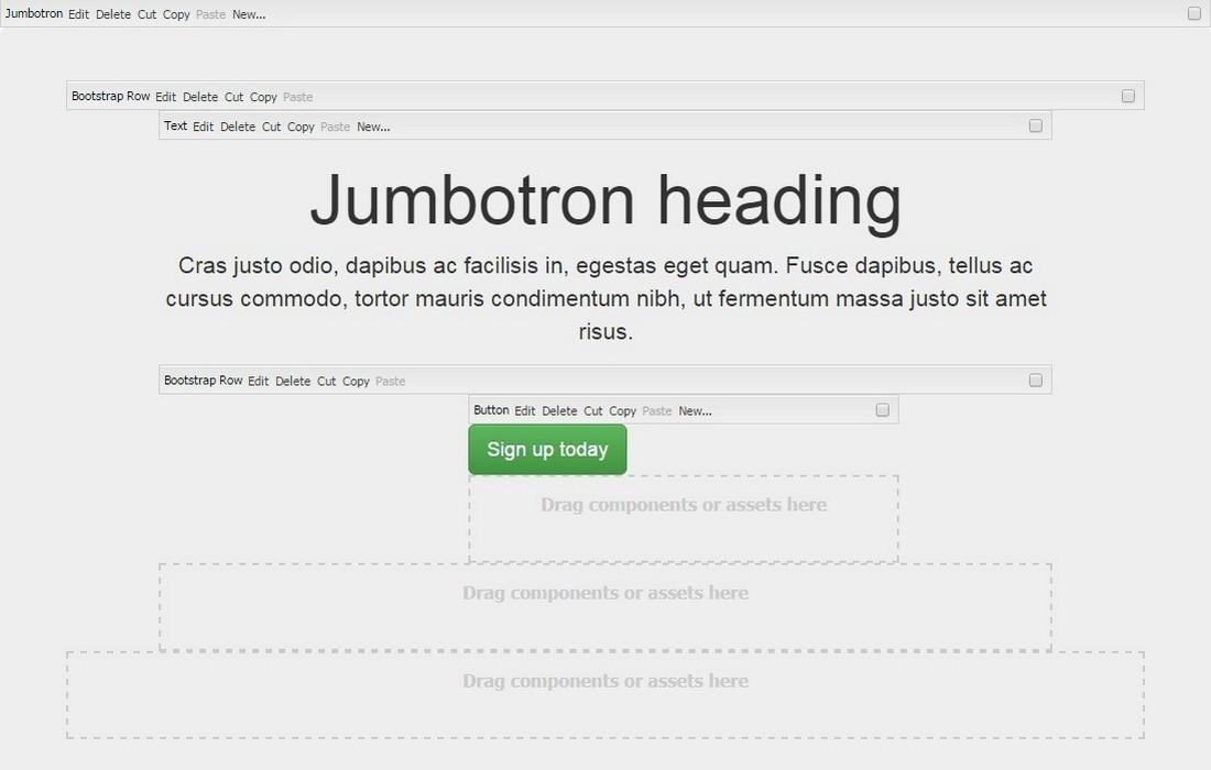 Jumbotron Edit